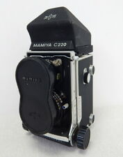 Mamiya C220 Professional TLR Film Camera Sekor F/3.5 65mm Lens