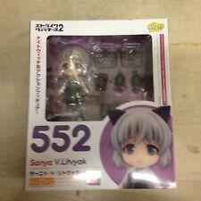 Nendoroid 552 Strike Witches 2 Sanya V.Litvyak Figure W/Display Stand, New Seale