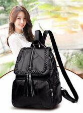 Bag Backpack Travel Shoulder Women Leather Rucksack School Pu Handbag Girls Faux