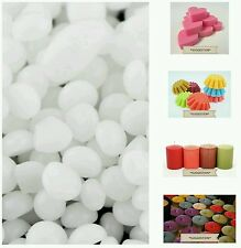 200g Pure, Refined Paraffin Wax Pellets. White & Odourless. For WaxMelts/Candles