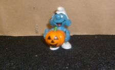SMURF Original Vintage Halloween Pumpkin Loose Holiday Rare Figure
