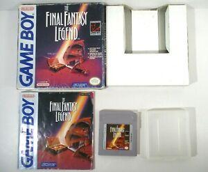 Final Fantasy Legend (Nintendo Game Boy, 1990) CIB