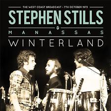 STEPHEN STILLS & MANASSAS New Sealed 2018 UNRELEASED LIVE 1973 CONCERT CD