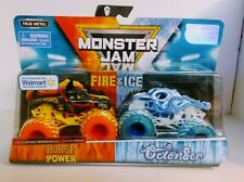 2019 Monster Jam Fire & Ice Megalodon Dragon Spin Master Walmart Special Edition