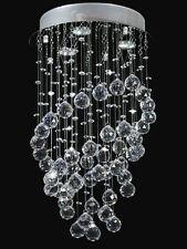 Modern Annularity Pendant Lampe Ceiling Light Crystal Chandelier