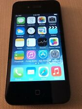 Apple iPhone 4 Black 8GB AT&T Touchscreen Bluetooth A1332 Smartphone