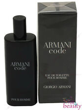 Armani Code By Giorgio Armani .5oz/15ml Edt Spray For Men New In Box