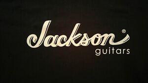 JACKSON GUITARS SHIRT guitar soloist dinky randy kelly king v