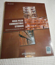 NEW High-Piled Combustible Storage Application 2012 IFC Guide BOOK Manual