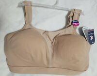 Champion Women's Spot Comfort Full Support Sports Bra, Nude,, Nude, Size 34DD