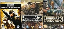 Terrorist takedown 1 & 2 & 3 new & sealed