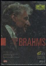 Leonard Bernstein's famous 1980s / Vienna Brahms Concerts DVD-9  boxset