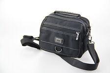 Männer Schultertasche Gürteltasche Reisetasche PVC Synthetik klein schwarz 642