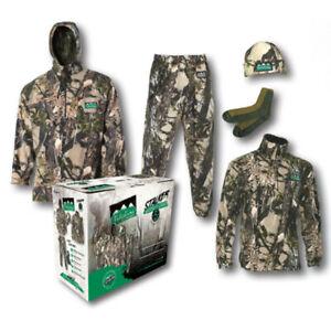 Ridgeline Stalker Camo Pack - Mens   Buffalo Camo Winter Hunting Clothing