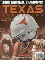 Texas Longhorns 2005 National Champions Magazine