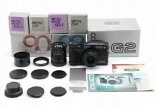 【Mint in Box】Contax G2 Black Rangefinder camera w/ 28mm 90mm Lens Set From Japan