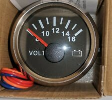 Voltage Gauge for Truck/Car/Boat/Motorcycle UK Stock