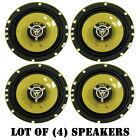 "Lot of (4) New Pyle PLG6.2 6.5"" 240 Watt 2-Way 4 Ohm Coaxial Speakers Car Audio"