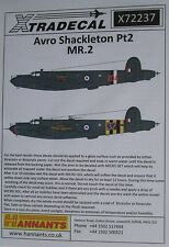 Xtradecal 1/72 X72237 Avro Shackleton MR.2 Decal set pt 2