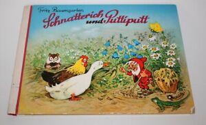 Schnatterich und Puttiputt von Fritz Baumgartner - Rarität