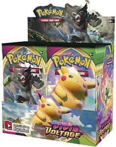 Pokemon Vivid Voltage Booster Box 36 Packs Sword & Shield SWSH04 FREE SHIPPING