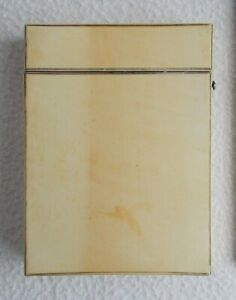 Old Antique Calling Card Case