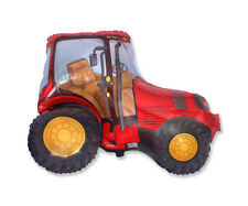 "Red Tractor 29"" Supershape Foil Balloon Farm Farmyard Party Vehicle Decoration"