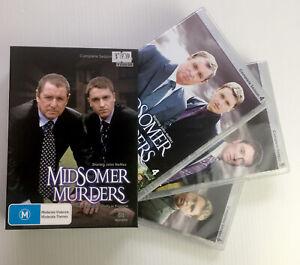 Midsomer Murders Complete 4 + 5 + 6 Seasons (9 DVD Box Set) All Regions