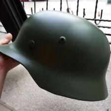 REPRO WW2 German Green  Army M35 M1935 Steel Helmet Stahlhelm Steel Material