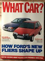What Car? Magazine - October 1989 - Ford's New Cars