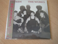 "QUEEN ""The Works"" Japan mini LP CD"