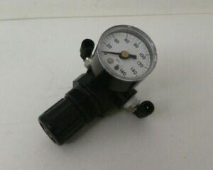 Norgren R91W-2AK-NLN Water Pressure Regulator w/ Ashcroft Gauge