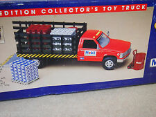 1996 Mobil Limited Edition Collectors Toy Stake Body Truck w/ Frieght & Pallets