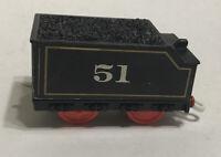 Thomas Trackmaster 51 Coal Tender Hiro Friends Railway Train Mattel T4606 2009