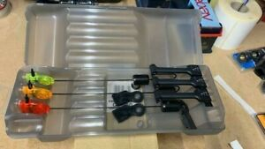Fox Micro Swinger 3 Rod Presentation Carp Fishing Bite Indicator Set CSI040