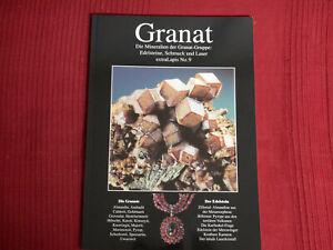 Extra Lapis No.9 Granat, Die Mineralien der Granat-Gruppe, 1995, 96 Seiten