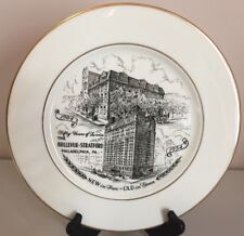 Vintage The Bellevue-Stratford Philadelphia Pa 1904-1954 collectors Plate 10.25""