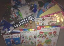 Caja de Artesanía de Navidad para niños (arte rasguño, Espuma, Pegatinas, abalorios, etc.)