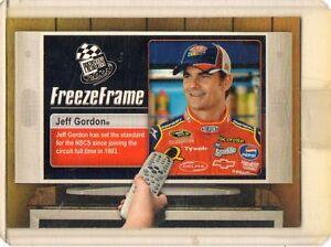 2009 Press Pass Freeze Frame #FF1 Jeff Gordon