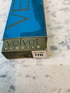Venus Velvet Pencils - HB, Box Of 12 Unused Pencils.