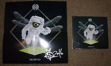 BASSNECTAR Hand Signed Autographed CD Booklet Poster UNLIMITED New bass nectar