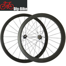 700C Carbon Fiber Bicycle racing Wheelset 38mm 50mm Clincher Road Bike Wheels