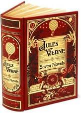JULES VERNE: SEVEN NOVELS ~ 2010 Illustrated Leatherbound Sealed ~