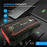 22000mAh Portable Car Jump Starter Battery Charger Dual USB Port Power Bank LED