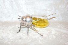 TS Victorian Mappin and Webb Vaseline Sheffield Silver Plate Bee Honey Pot!