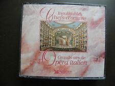 """COFFRET 3 CD INOUBLIABLES CHEFS-D'OEUVRE """"Les grands airs de l'Opéra Italien"""""""