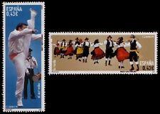 España 2009, Serie Bailes y Danzas. El Aurresku y la Rueda (MNH) / CF5178