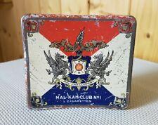 Alte Blechdose * Zigarettendose * MAL-KAH Club No 1 * Cigarettes old tin