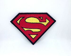 Superman Logo DC Comic Super Hero Iron/sew on Embroidered Patch