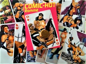 Comic-Hot-Rommè Pinup Sexotic-Comic 55 Blatt Kartenspiel NEU OVP